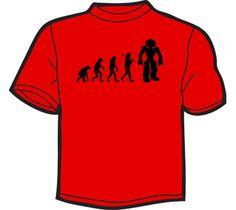 NoiseBot.com Funny T-Shirts - Robot Evolution T-Shirt, Hoodie, or Tote Bag