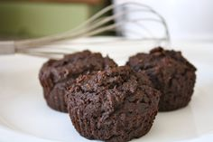 Clean Living Chocolate Banana Coconut Flour Muffins