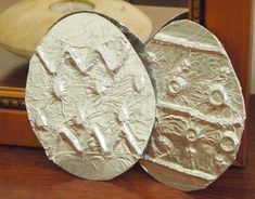Free instructions for Silver Easter Egg Craft with Aluminium foil.  Great for kids to do with adults.