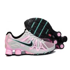 nike shox women | Nike Shox Turbo+ 13 Running Shoe Womens Beige Pink | Sale nike Shox ...