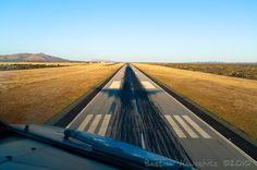 Landing in Windhoek, Namibia