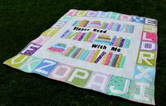 ABC . . . Read With Me Quilt « Moda Bake Shop