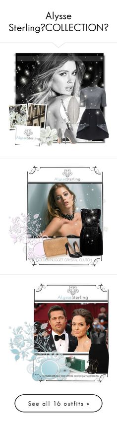 """""""Alysse SterlingCOLLECTION"""" by b-mila ❤ liked on Polyvore featuring Clutch, polyvorecommunity, polyvoreeditorial, PolyvoreMostStylish, Huddleson, Lattori, Gianvito Rossi, Therapy, BRILLIANCECRYSTALCLUTCH and Balmain"""