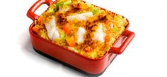 Kjøp Torsk- og potetgrateng med sennep og resten av ukeshandelen med ett klikk! Dette er en annen variant av fiskegrateng med potetmos og grønnsaker. Denne oppskriften er lett å like for både for liten og stor.
