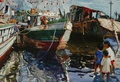 """""""Shallow water"""" -  Fred GALAN"""