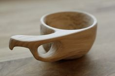 Kuksa, apple wood cup by Hanna Kaketti
