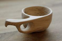 Kuksa, apple wood cup by Hanna Kaketti