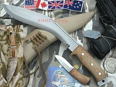 "This Kukri ""Operation Enduring Freedom"" is a modern approach to an ancient blade, designed for service in Afghanistan."