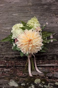 September bridesmaid bouquet