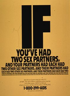 if you've had …AIDS posters