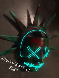 Masks For Sale, Halloween Costumes, Neon Signs, Etsy, Halloween Costumes Uk