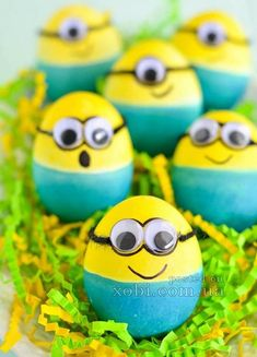 пасхальные яйца - миньоны