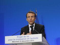 Quand Emmanuel Macron agaçait le secteur de la construction...
