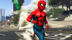 SPIDERMAN WITH THE FLASH'S POWERS! (GTA 5 Mods Funny Moments) - Video --> http://www.comics2film.com/spiderman-with-the-flashs-powers-gta-5-mods-funny-moments/  #TheFlash
