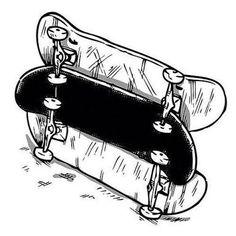 Resultado de imagem para skateboard illustrations