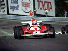 Niki Lauda - Ferrari 1976, Watkins Glen, New York.