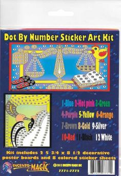 #7771-7772 Rosh Hashana Dot Art. This Package includes 2- 5 3/4 x 8 1/2 Backers and corresponding dots.