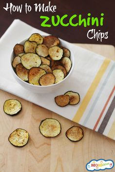 how to make zucchini chips. I wanna do salt and vinegar, garlic Parmesan, and maybe some with active yeast to resemble Cheetos. Yumm