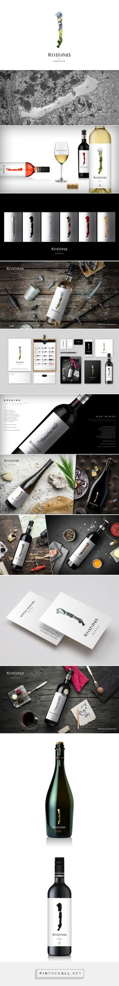 Kristinus Winery - Packaging of the World - Creative Package Design Gallery - http://www.packagingoftheworld.com/2016/10/kristinus-winery.html