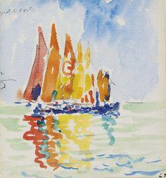 Paul Signac - Venice. Картины с аукционов Sotheby `s