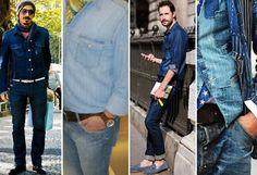 As camisas jeans possuem uma versatilidade imensa, podendo ser usadas de diversas formas e combinações. Confira no nosso blog dicas de como aderir essa moda. Veja também as apostas da Fargaz para esta peça que invadiu o guarda-roupa masculino;  http://fargaz.com.br/blog/index.php?id=35