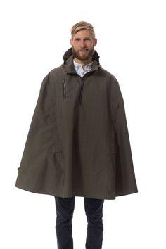 Electric Glen Cleverhood rain cape