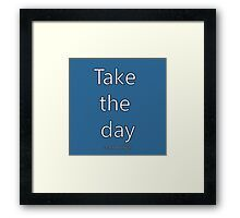 'Penpals Podcast: Take the day - Jack Phillips' Framed Print by Caroline Brennan Iphone Cases, Framed Prints, Day, Shirt, Dress Shirt, Iphone Case, Shirts, I Phone Cases