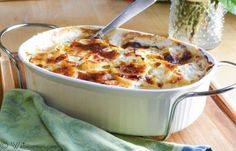 Potato and Leek Gratin #SundaySupper @L a Farme / Anne / La Farme Papina   Webicurean