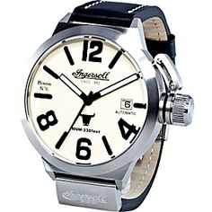 Ingersoll Watches Bison No.6 - Black Black - via eBags.com!