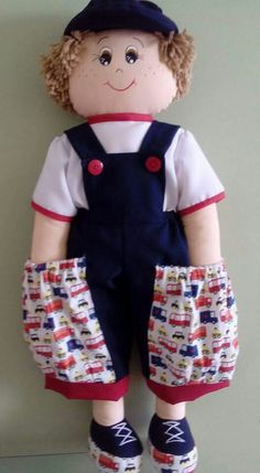 Sewing Toys, Sewing Clothes, Doll Clothes, Diaper Holder, Toy Craft, Sewing Projects For Beginners, Soft Dolls, Fabric Dolls, Diy And Crafts