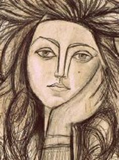 Francois Gilot, Picasso's French wife.