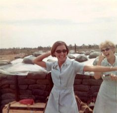 """A tribute to the Vietnam War. """"No event in American history is more misunderstood than the Vietnam. Vietnam History, Vietnam War Photos, Navy Military, Military Women, History Online, Us History, North Vietnam, American Red Cross, Female Soldier"""
