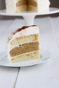 Tiramisu Cake....the best cake I have ever baked. Lots of steps but nothing complicated. I baked the actual cakes one day and did the fillings/ frosting the next! Delicious and the longer it sat the better it tasted....yum!