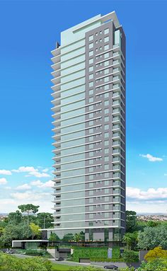 Maison Heritage | 431m² | Ecoville | Curitiba Building Elevation, Building Facade, Minecraft Projects, Beautiful Buildings, Ceiling Design, Exterior Design, Modern Architecture, Skyscraper, Real Estate