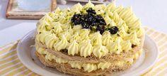 Τoύρτα κανταΐφι με κρέμα λάιμ Greek Recipes, Macaroni And Cheese, Waffles, Favorite Recipes, Sweets, Breakfast, Cake, Ethnic Recipes, Desserts
