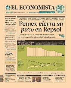 Pemex cierra su pozo en Repsol; vende 7.8% de sus acciones por 2,170 mde   En nuestra #PrimeraPlana para este 4 de junio del 2014.  http://eleconomista.com.mx/industrias/2014/06/04/pemex-vende-78-acciones-repsol