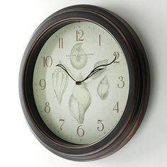 FirsTime Seashell Wall clock from Kohl's