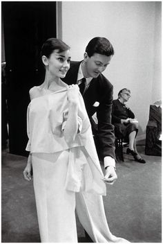 Designer and Muse: How Audrey Hepburn Inspired the Designs of Hubert de Givenchy - CHAOS Magazine