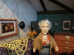 Miss Marple in her salon