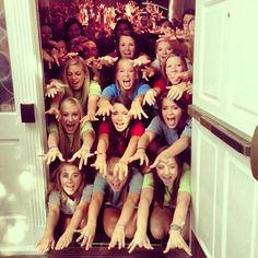 LOVE IT!!!Why walk when you can fly?  Theta getting ready for recruitment at Bama.
