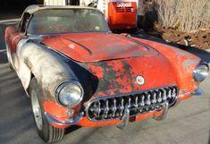 Barn Project: 1956 Chevrolet Corvette