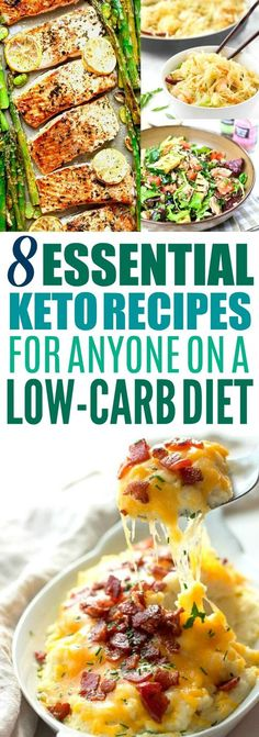 Factor Quema Grasa - These 8 Ketogenic recipes are THE BEST! Im so glad I found these AMAZING keto recipes! Now I have some healthy dinner recipes to try tonight! Ive been wanting to try this Ketogenic diet! So pinning this keto diet pin! Clean Eating, Stop Eating, Healthy Eating, Low Carb Diet, Paleo Diet, Dukan Diet, Keto Foods, Healthy Foods, 7 Keto