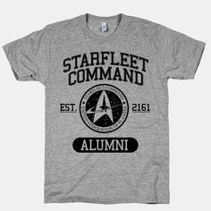 Starfleet Command Alumni   HUMAN   T-Shirts, Tanks, Sweatshirts and Hoodies