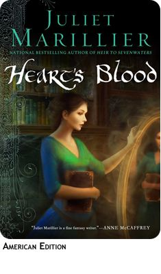 Juliet Marillier Heart's Blood  started out ok, then not so ok