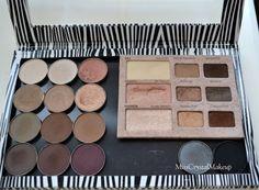 Z Palette, Nude Beach, Erotica, Cocoa, Eyeshadow, Cosmetics, Classic, Derby, Eye Shadow