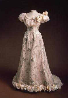 1890s dress of empress Alexandra F.