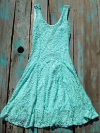 Rodeo Cowgirl Lace Dress Perfect Western Spring Color Dress for any formal or casual event $29.99