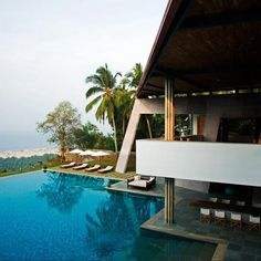 Infinity pool in India