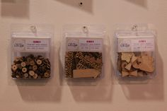 Chic Tags Wood Embellishments
