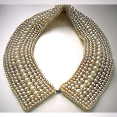 Vintage Pearl Collar Choker by RememberMeEmily on Etsy